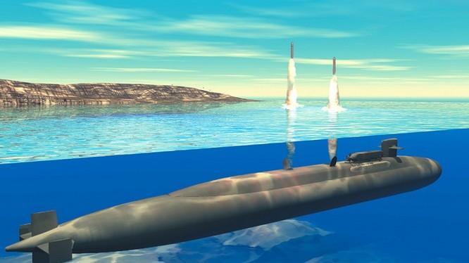 Tàu ngầm hạt nhân lớp Ohio mang tên lửa hành trình Tomahawk là thứ vũ khí đáng sợ của Mỹ