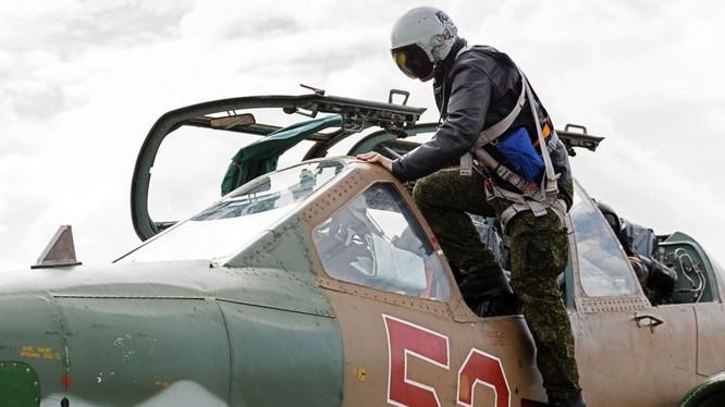 Phi công Nga tham gia chiến dịch quân sự tại Syria