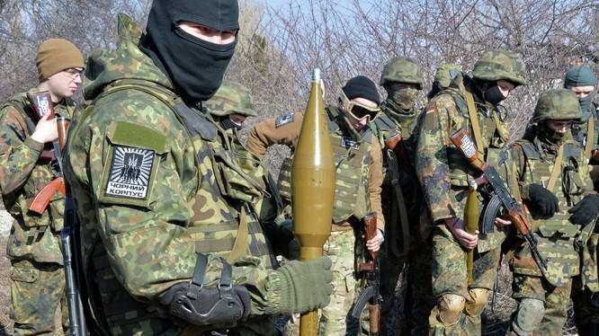 Giao tranh vẫn diễn ra tại Donbass