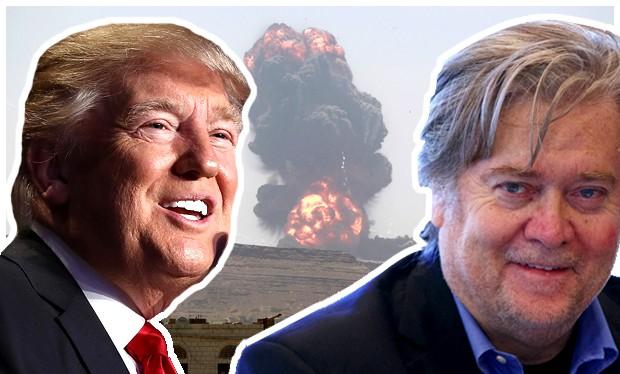 Ông Bannon định hình tư tưởng chiến lược cho tổng thống Donald Trump
