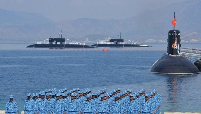 Tàu ngầm là lực lượng mới trong thành phần quân chủng Hải quân Nhân dân Việt Nam