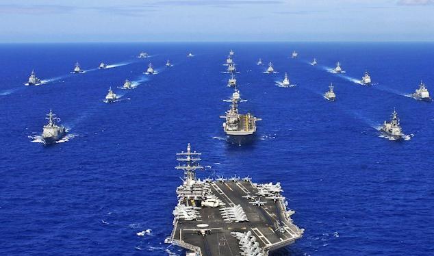 Cụm tác chiến tàu sân bay là biểu tượng cho sức mạnh toàn cầu của Mỹ