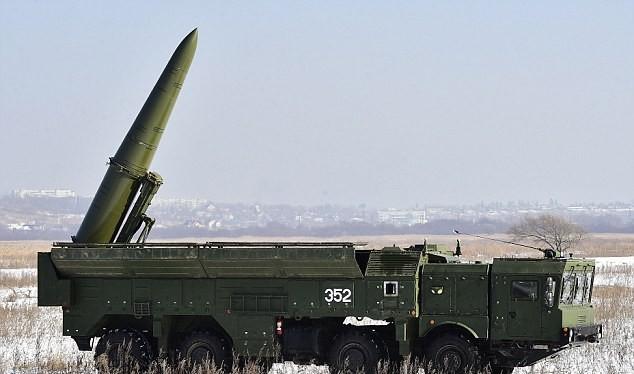 Tên lửa đạn đạo tầm ngắn Iskander của Nga