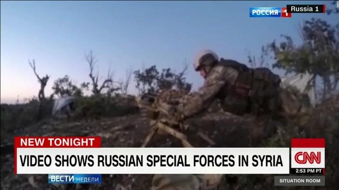 Đặc nhiệm Nga tham chiến tại Syria
