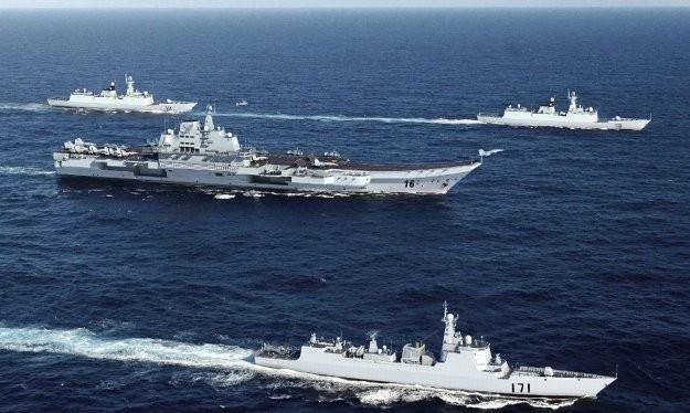 Cụm tác chiến tàu sân bay Trung Quốc rập khuôn theo mô hình Mỹ nhưng lạc hậu rất xa về công nghệ cũng như trình độ và kinh nghiệm vận hành
