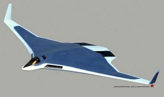 Mô hình máy bay ném bom chiến lược PAK DA của Nga