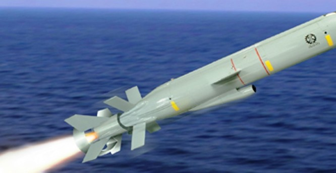 Tên lửa Deliah phiên bản hải quân