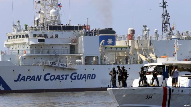 Tuần duyên Nhật Bản sẽ tăng cường diễn tập với các nước Đông Nam Á