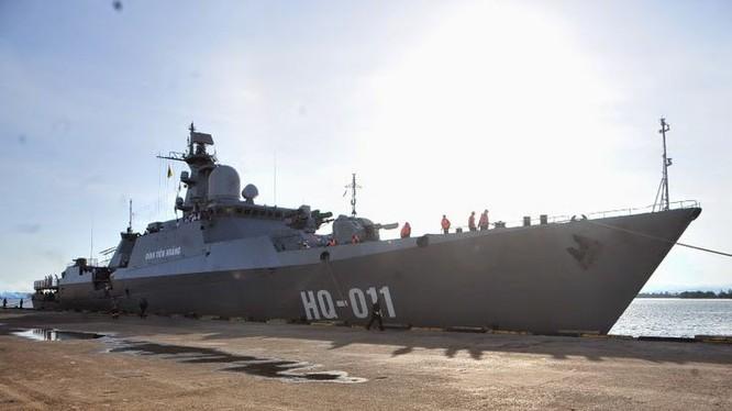 Chiến hạm Gepard của Hải quân Việt Nam