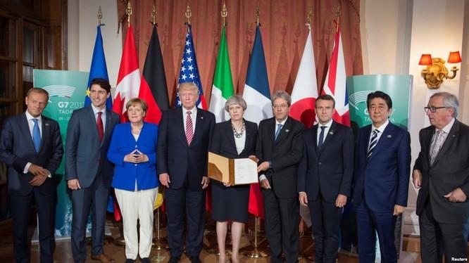 Các lãnh đạo G7 họp tại Ý đã ra tuyên bố chung nhắc đến Biển Đông