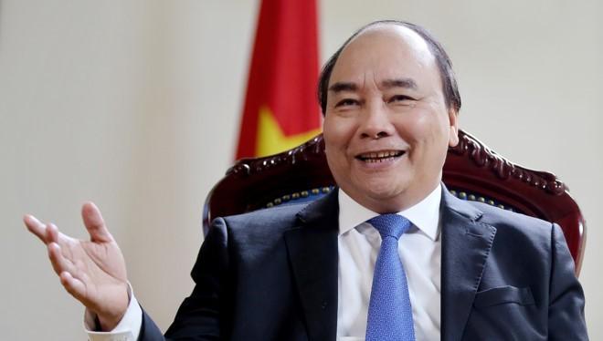 Thủ tướng Nguyễn Xuân Phúc Ảnh: Bloomberg
