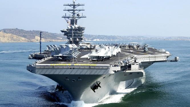 Một ngày nào đó, tàu sân bay Mỹ có thể sẽ thăm cảng Việt Nam