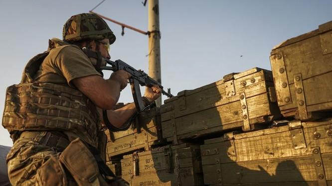 Chiến sự vẫn diễn ra tại khu vực Donbass