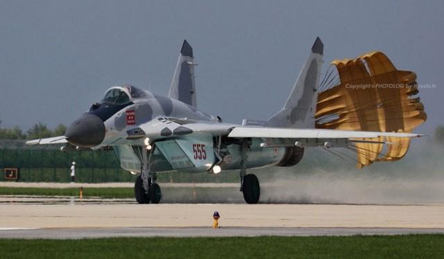 Chiến đấu cơ Mig-29 của không quân Triều Tiên