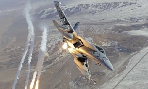 Chiến đấu cơ F-18 của Mỹ