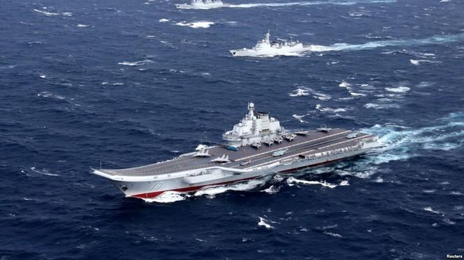Cụm tàu sân bay Liêu Ninh, Trung Quốc