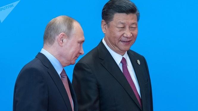 Hai nhà lãnh đạo Nga và Trung Quốc liên tục gặp nhau trong thời gian gần đây