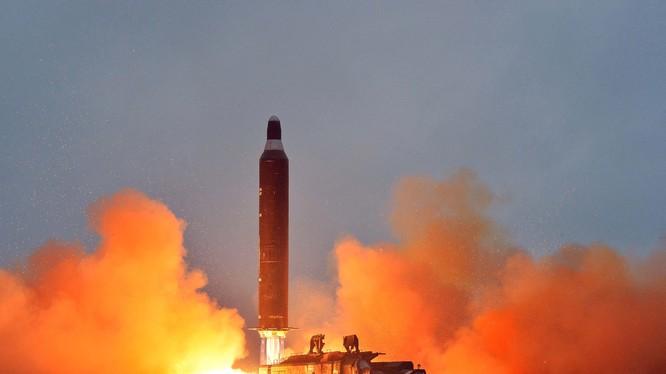 Một vụ thử tên lửa đạn đạo của Triều Tiên