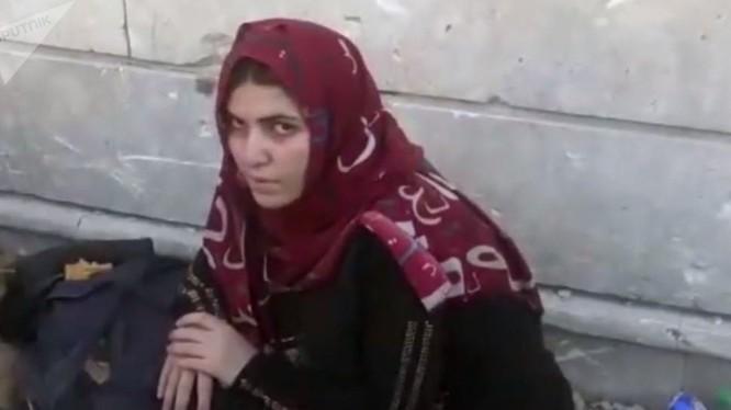 Một người vợ chiến binh IS