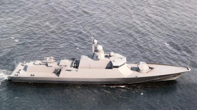 Chiến hạm Karakurt 22800 nhỏ nhưng đầy uy lực của Nga