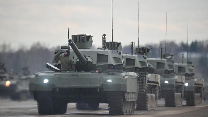 Siêu tăng Armata của Nga được coi là một sự cách mạng về công nghệ