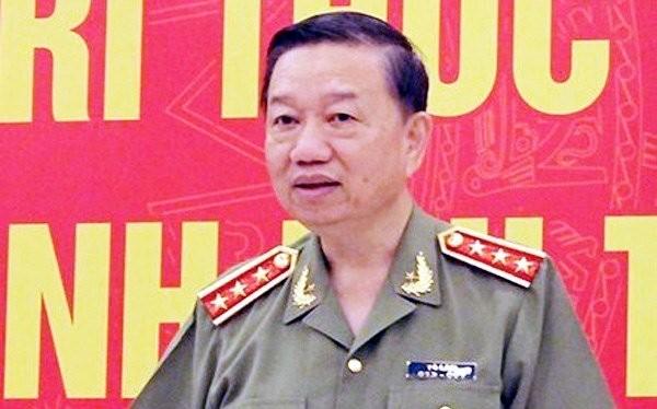 Bộ trưởng Công an Tô Lâm