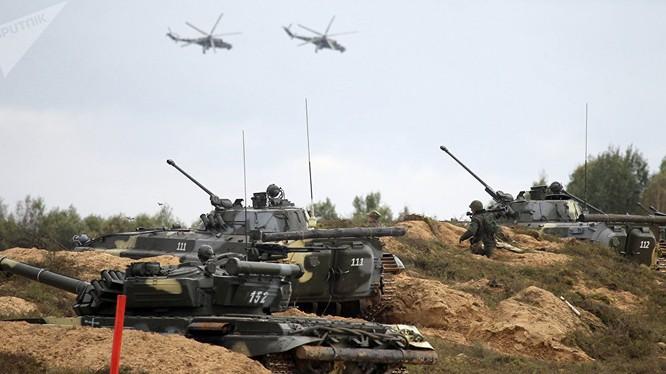 Nga và Belarus tập trận khiến Mỹ-NATO lo ngay ngáy