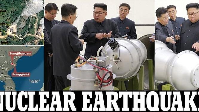 Tình hình bán đảo Triều Tiên tiếp tục tăng nhiệt khi Bình Nhưỡng tiếp tục thử hạt nhân và đạt bước tiến mới trong việc thu nhỏ đầu đạn hạt nhân