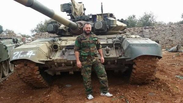 Xe tăng T-90 của quân đội Syria