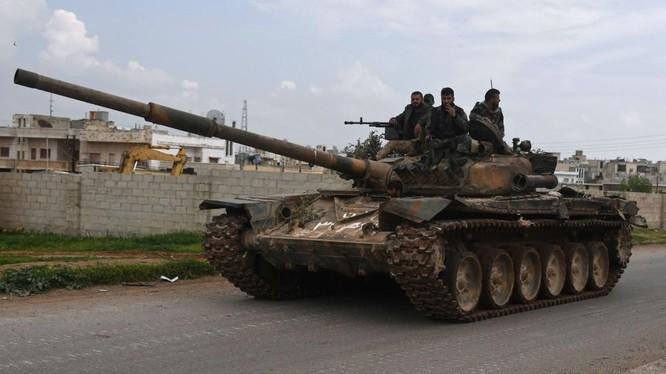Xe tăng quân đội Syria