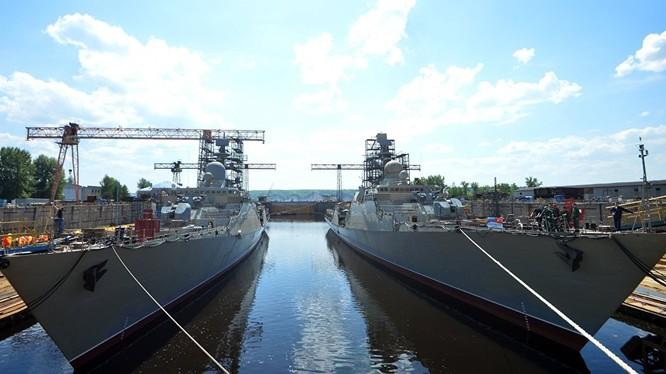 Nga đang hoàn tất việc đóng cặp chiến hạm thứ hai cho Hải quân Việt Nam