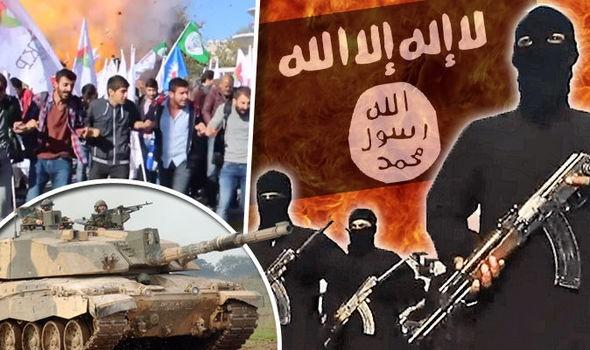 Tổ chức khủng bố IS đang sụp đổ ở Syria và Iraq