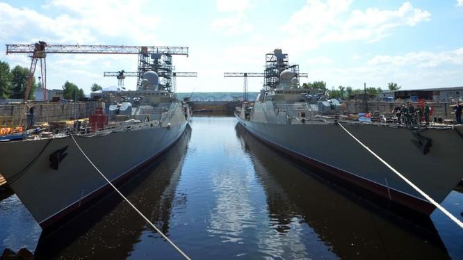 Cặp chiến hạm tàng hình Gepard thứ hai của hải quân Việt Nam được cho là sẽ thiên về săn ngầm