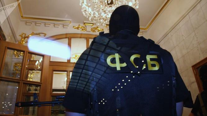 Nhân viên an ninh Nga