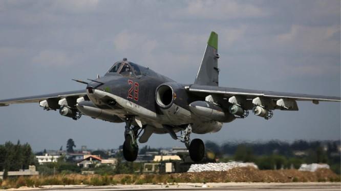 Cường kích Nga xuất kích diệt mục tiêu tại chiến trường Syria