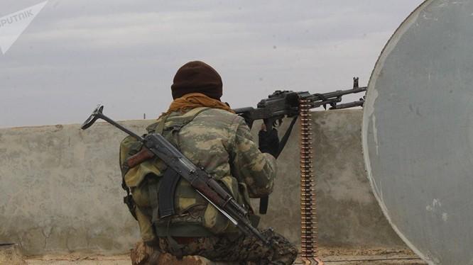 Mỹ hậu thuẫn lực lượng người Kurd sắp chiếm được Raqqa