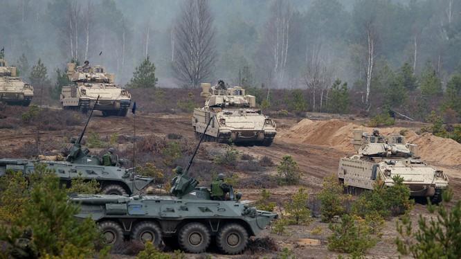 Một cuộc tập trận của lực lượng NATO