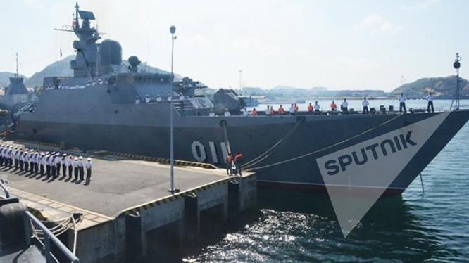 Chiến hạm Gepard Nga đóng cho hải quân Việt Nam