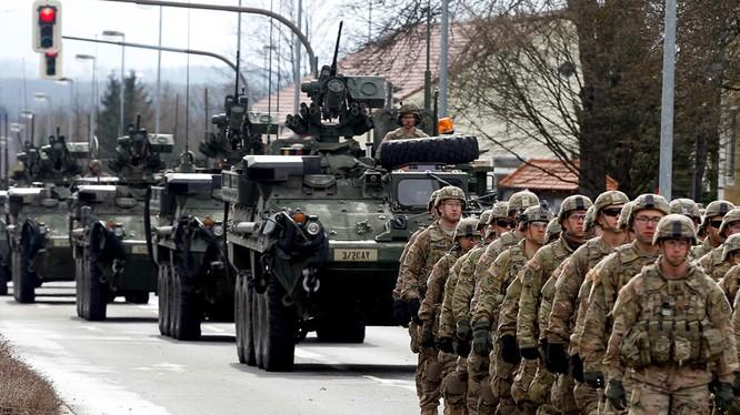 Lực lượng NATO ngày càng tiến sát biên giới nước Nga