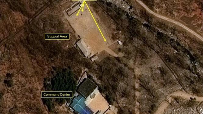 Bãi thử hạt nhân Punggye-ri của Triều Tiên