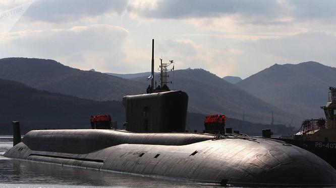 Tàu ngầm hạt nhân chiến lược Nga