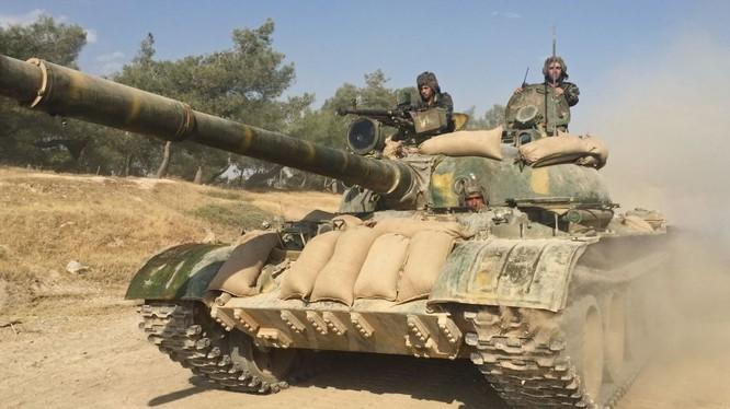 Quân đội Syria đang giành chiến thắng trên nhiều mặt trận
