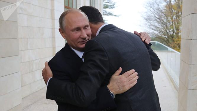 Tổng thống Putin gặp ông Assad tại Kremlin hôm 20/11/2017
