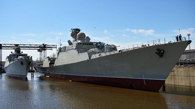 Việt Nam sắp tiếp nhận tàu khu trục Gepard thứ 4