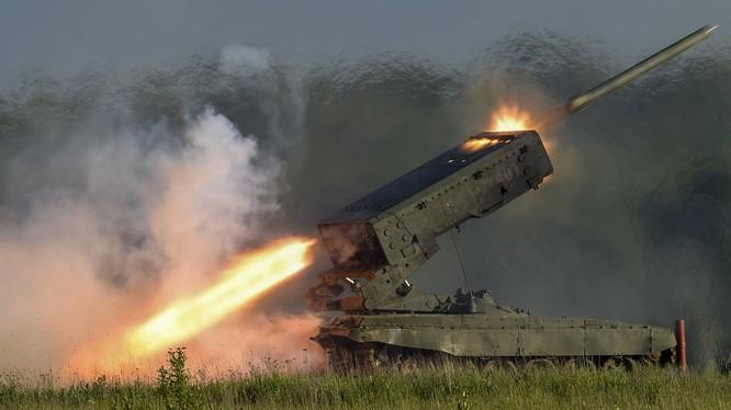 Pháo phản lực nhiệt áp của Nga đã lần đầu được thử lửa tại chiến trường Syria