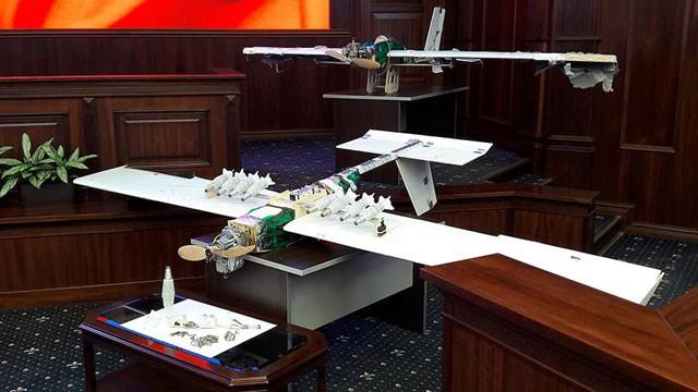 Những chiếc UAV tham gia vụ tấn công căn cứ không quân Nga tại Syria