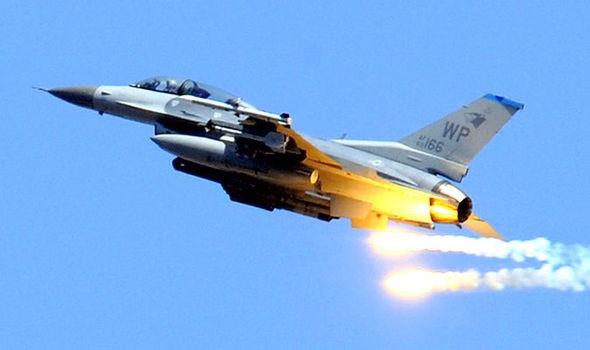 Chiến đấu cơ F-16 của Thổ Nhĩ Kỳ