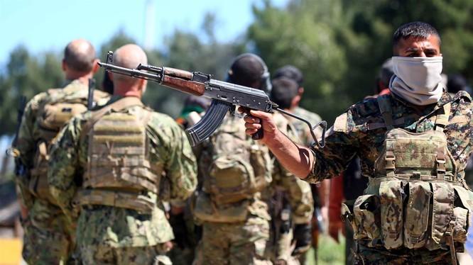 Binh sĩ người Kurd Syria