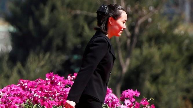 Bà Kim Yo jong - em gái nhà lãnh đạo Triều Tiên Kịm Jong un
