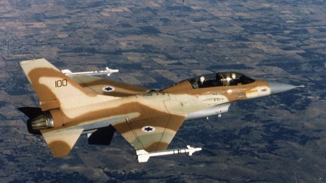 Tiêm kích F-16 của không quân Israel